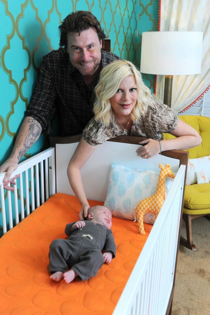 Tori Spelling New Baby Boy
