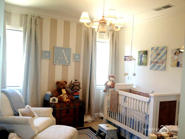 Nursery Design Trends Advice From Celebrity Designer: Celebrity Tamera Mowry's Vintage Americana Boy's Nursery