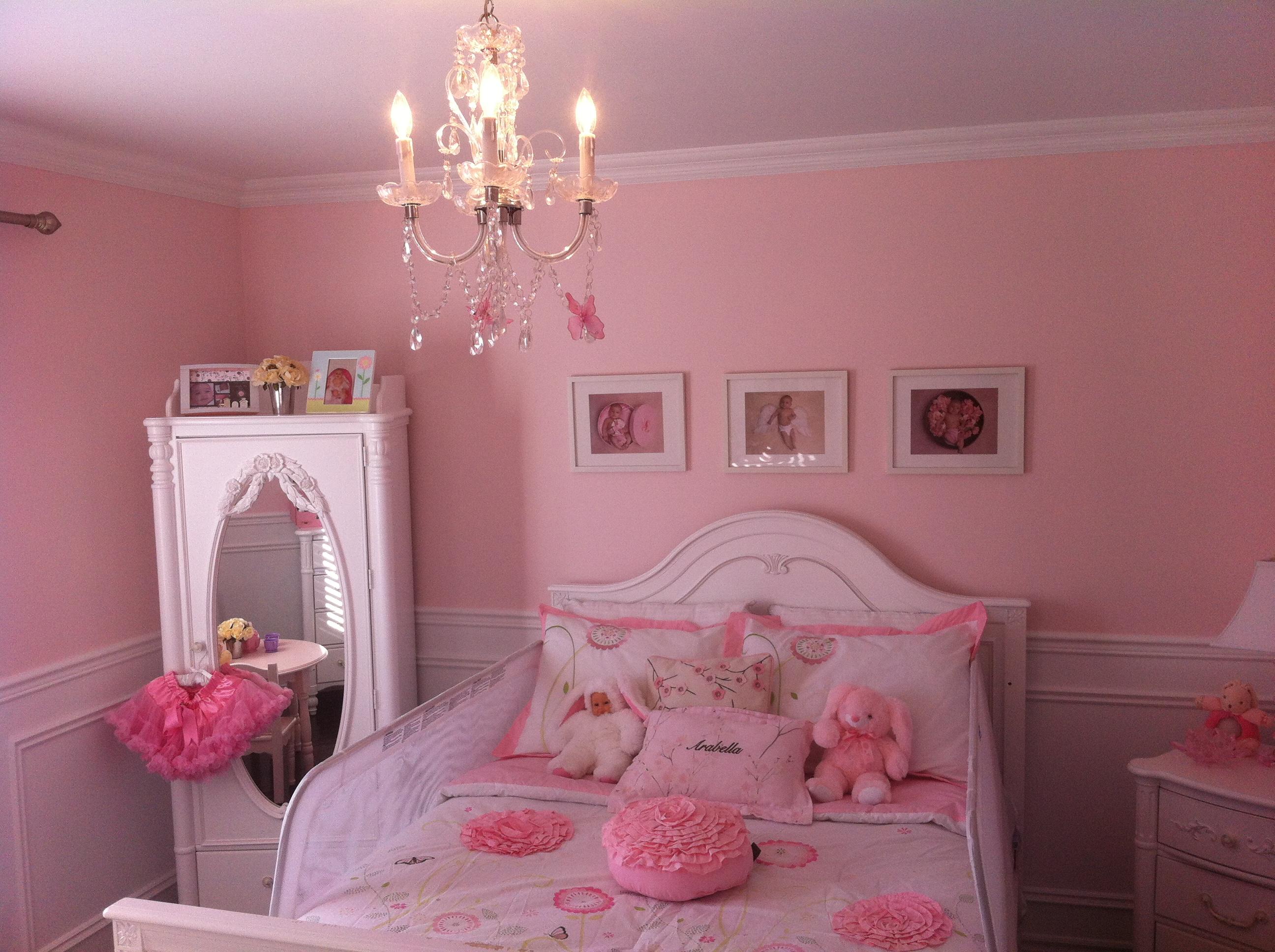 Baby Room Design Girls Wall Decor