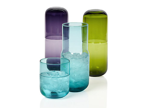 colorful water glass for nursery