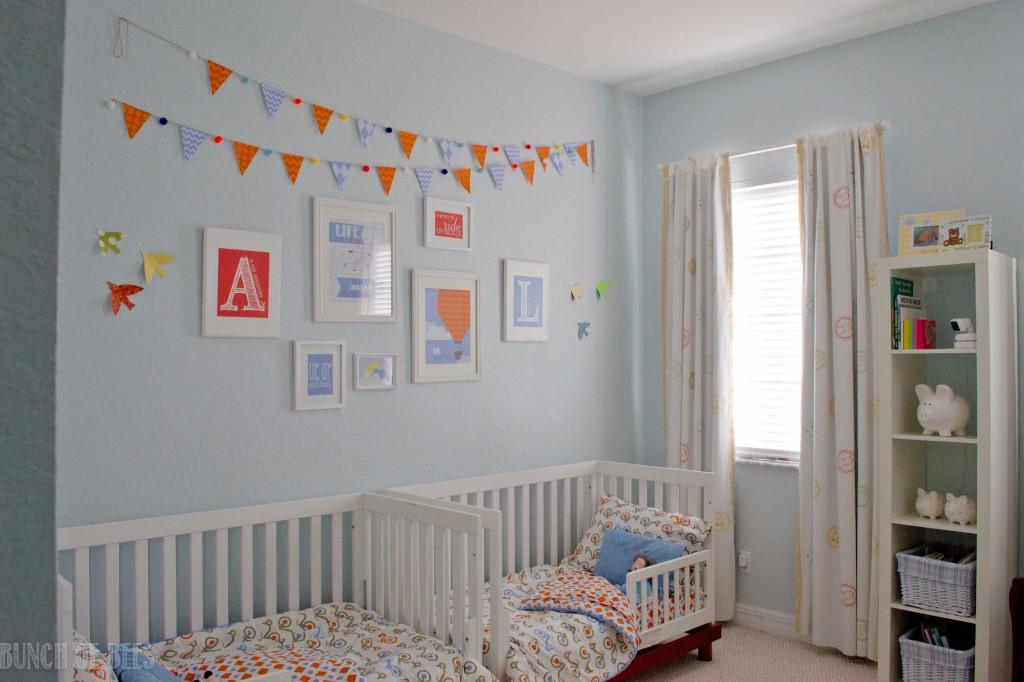 Readers Favorite Twin Boys Toddler Room