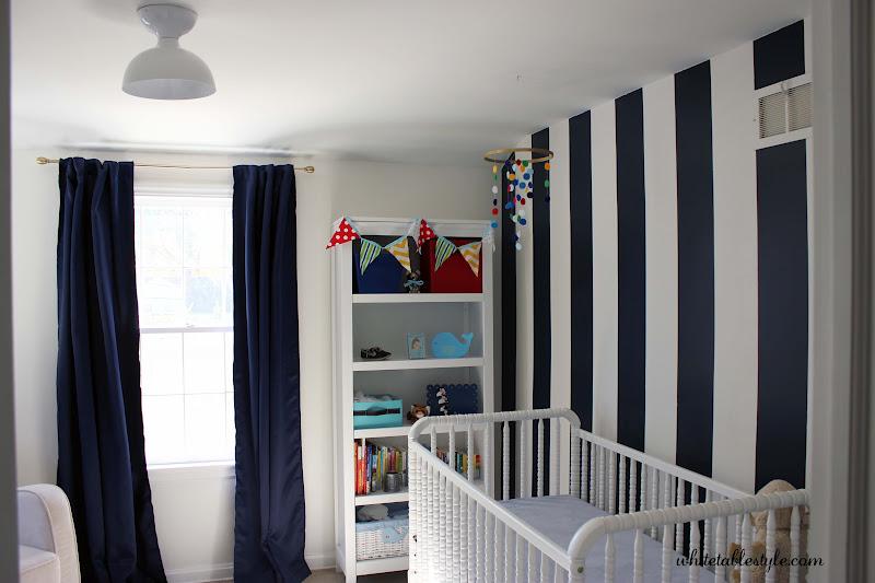 Everything Designish Baby Boy S Nursery: Watson's Primary Color Preppy Boy Nursery