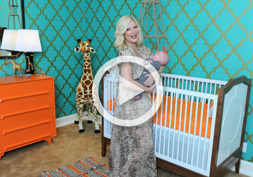 Baby Boy Nursery Tour: Room Tour: Tori Spelling's Baby Boy Nursery