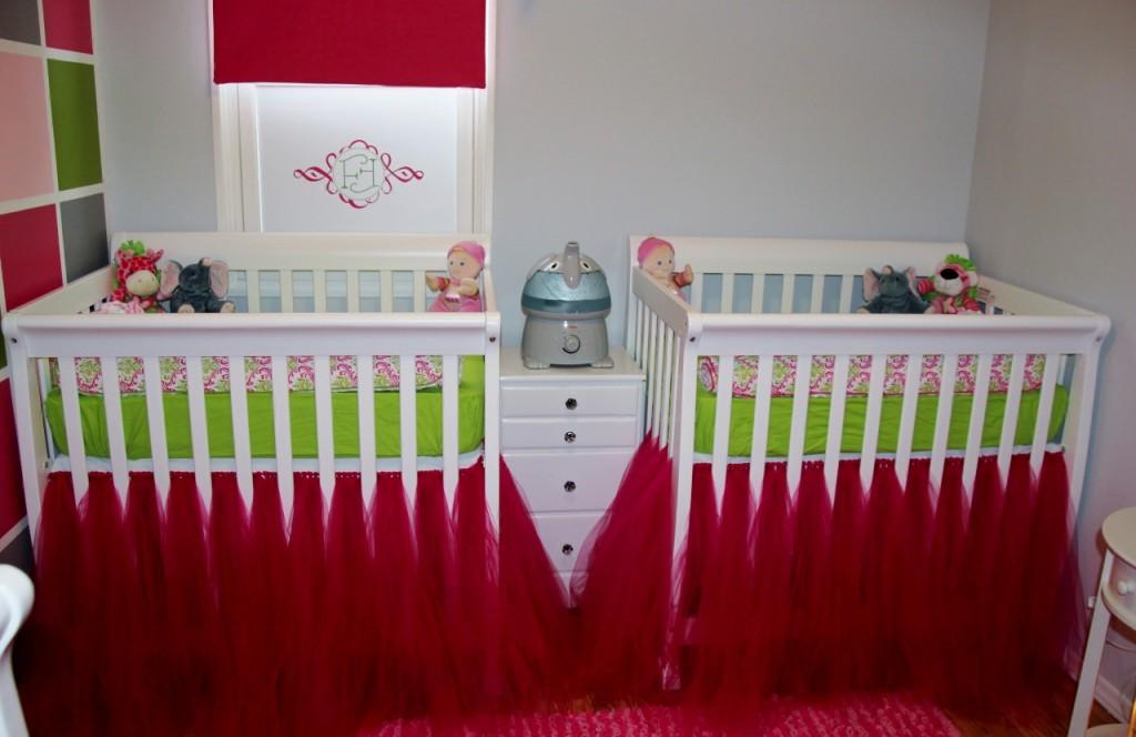 Small Vibrant Twin Nursery Project Nursery