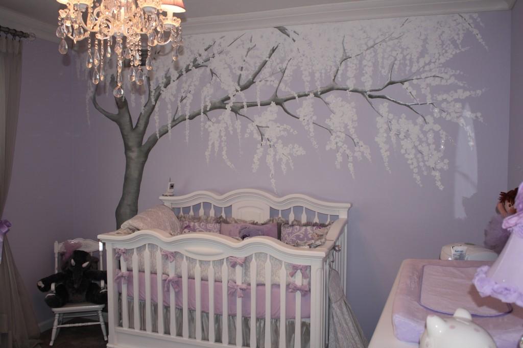 Sparkly Cherry Blossom Nursery