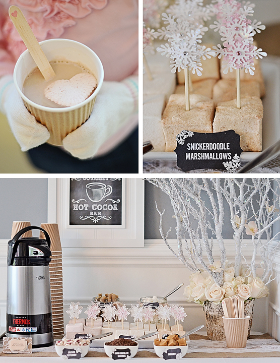 Winter Wonderland Hot Cocoa Bar
