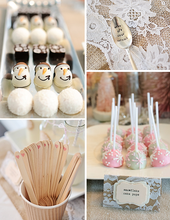 Winter Wonderland Gourmet Marshmallows And Cake Pops