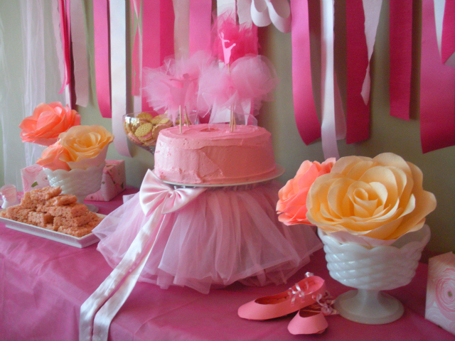 Ballerina birthday party project nursery for Ballerina party decoration