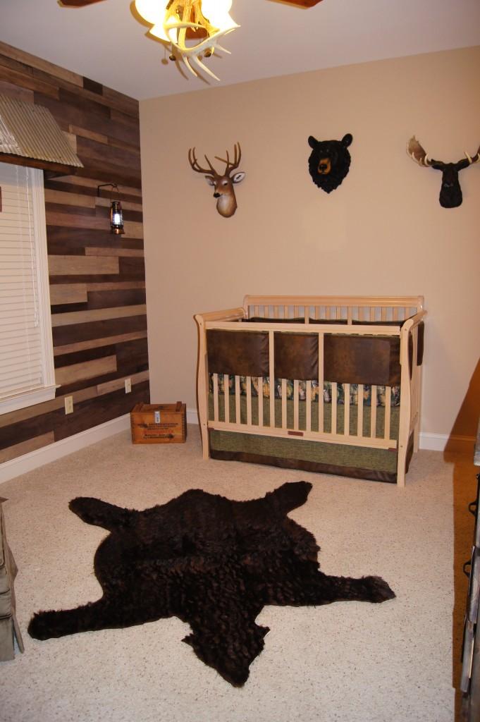cade 39 s lodge diy baby 2 nursery project nursery