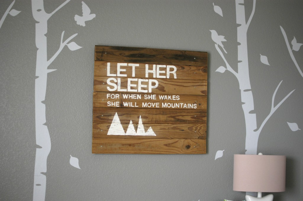 Woodland Nursery For Baby Girl Project