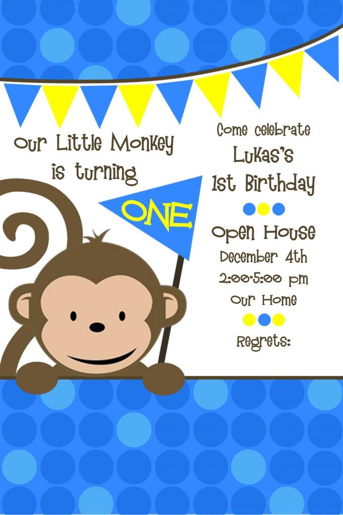 Mod Monkey 1st Birthday - Project Nursery
