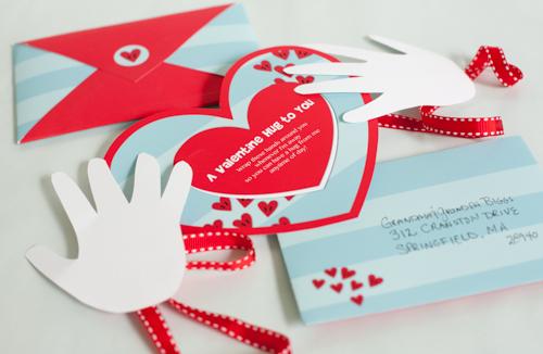 Free Printable Valentine Hug - Project Nursery