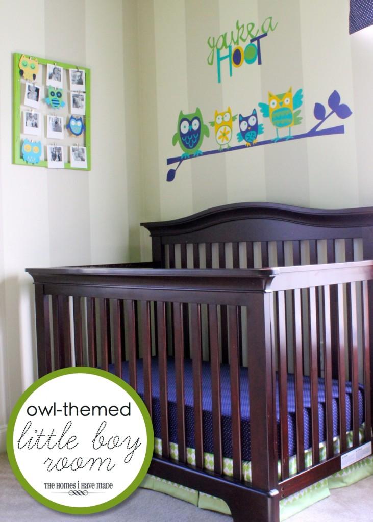 "Owl-Themed ""Little Boy Room"""