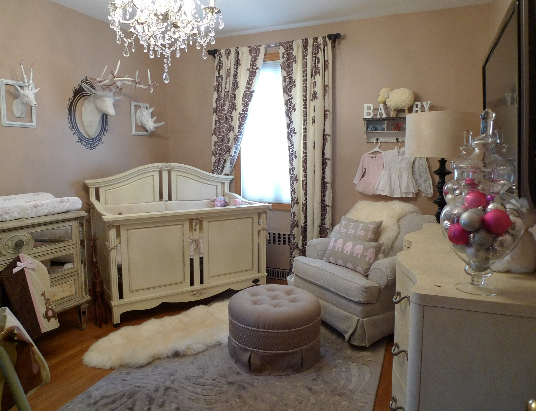 Luxury Baby Girl Nursery Project Nursery