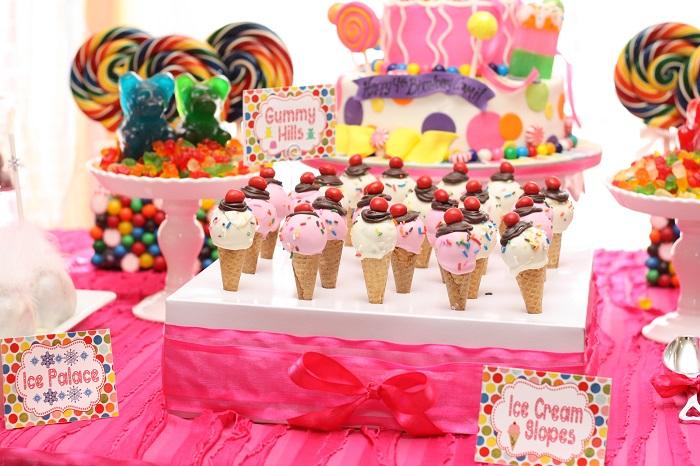 Candyland Birthday Craft Wall