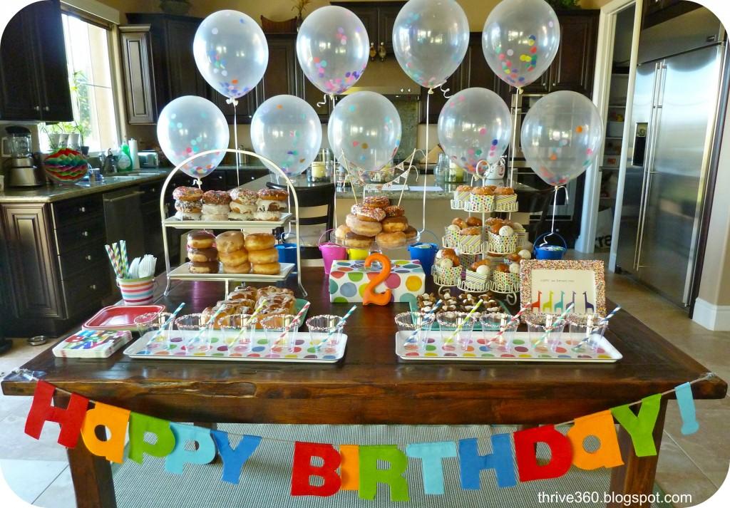 donut birthday party   project nursery
