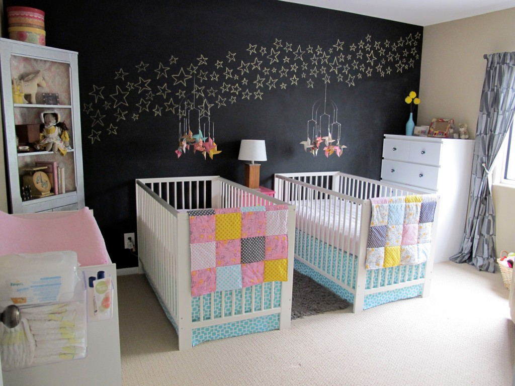 Evie And Eliza S Modern Twin Nursery Project Nursery