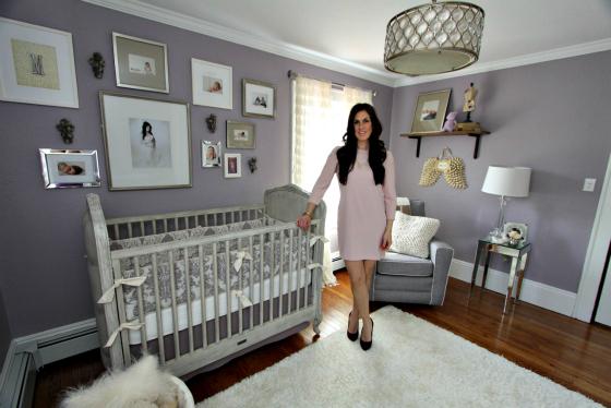 Athena Rutigliano in Daughter's Nursery