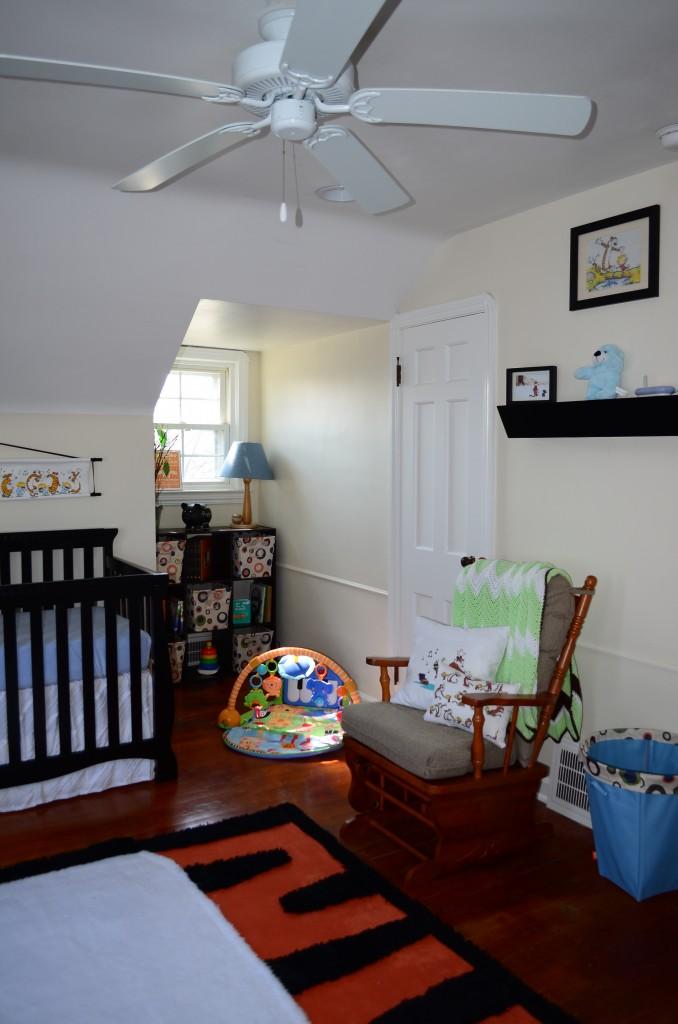 Handmade Calvin And Hobbes Nursery Project Nursery