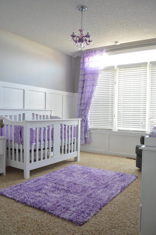 lavender and gray nursery project nursery. Black Bedroom Furniture Sets. Home Design Ideas
