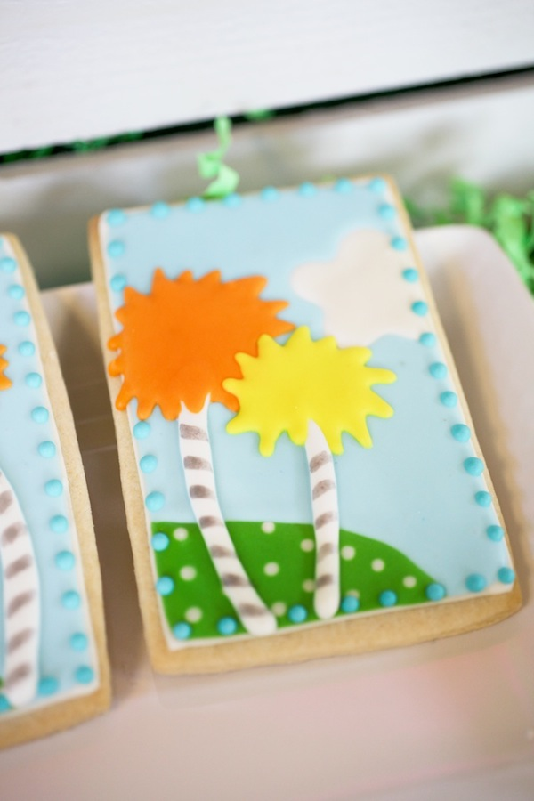 Lorax Cookie Truffula Tree
