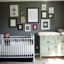 Eclectic Gender Neutral Nursery