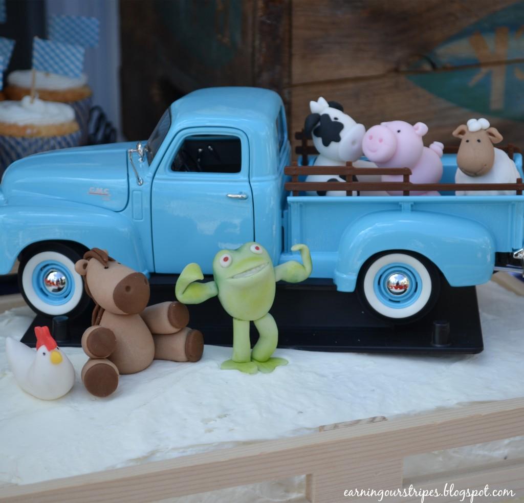 Little Blue Truck Birthday Party - Project Nursery