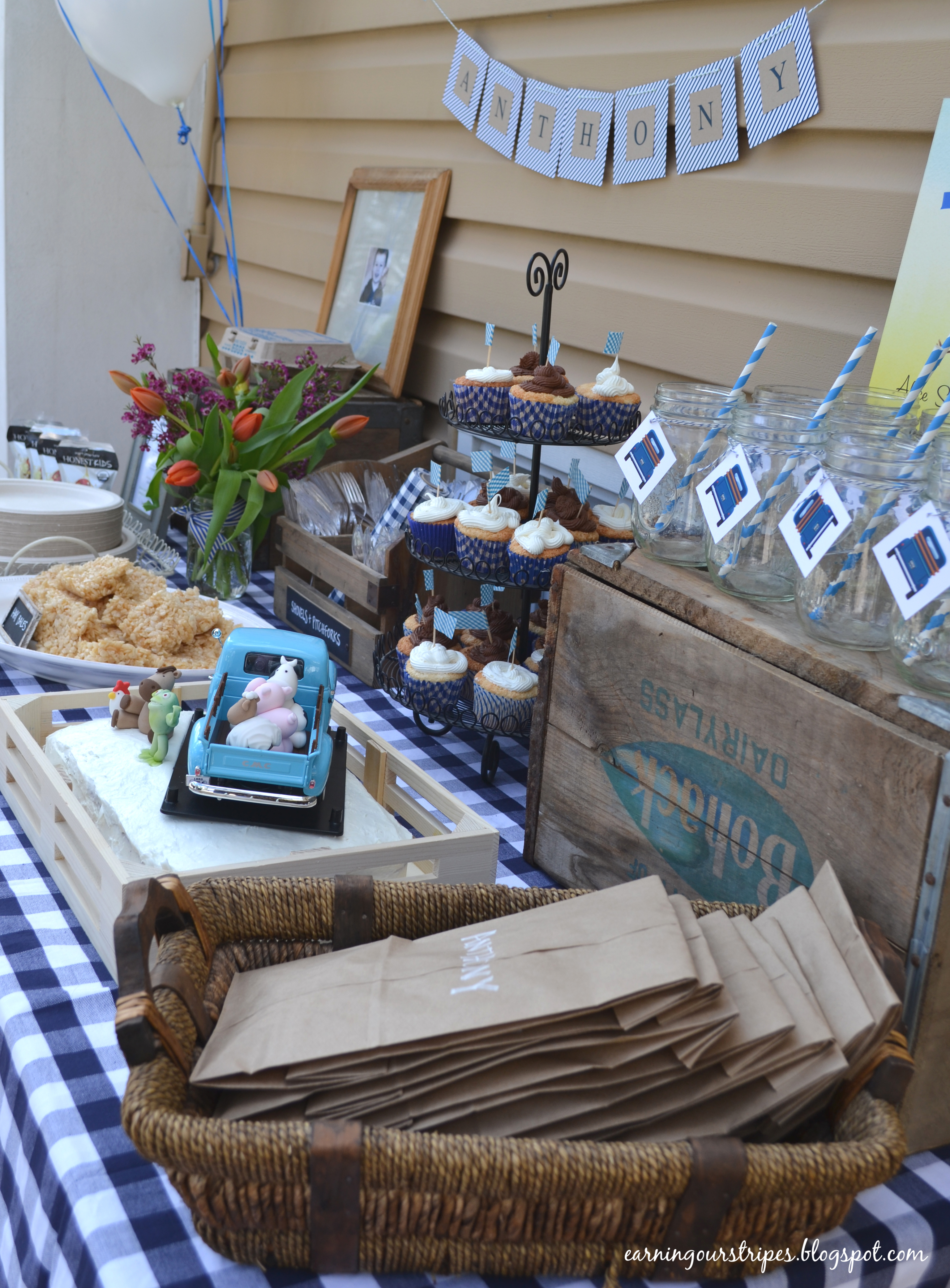 Little Blue Truck Birthday Party Project Nursery