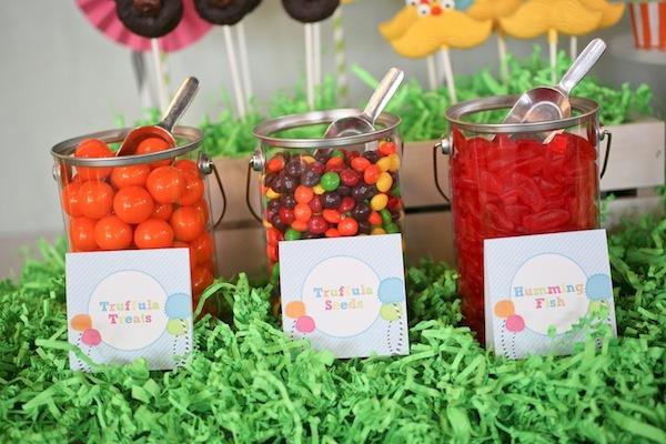 lorax theme candy