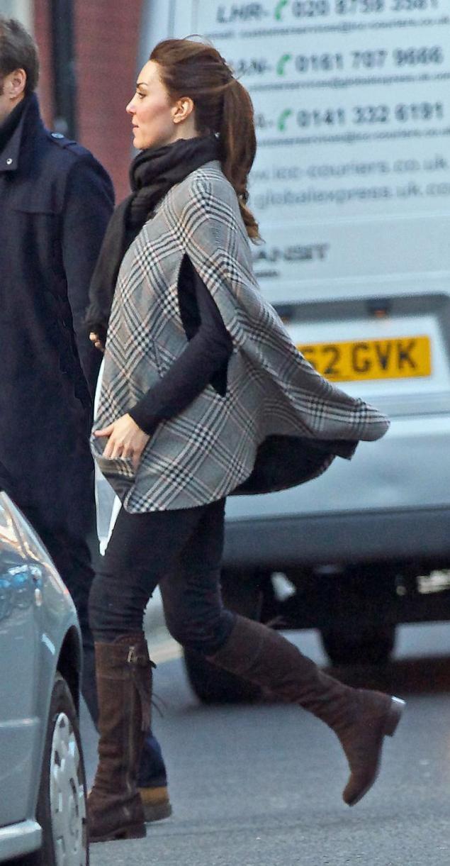 Pregnant Kate Middleton's Baby Bump