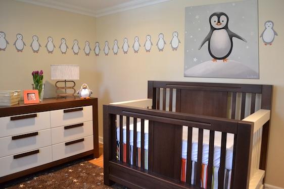 DIY Penguin Nursery - Project Nursery