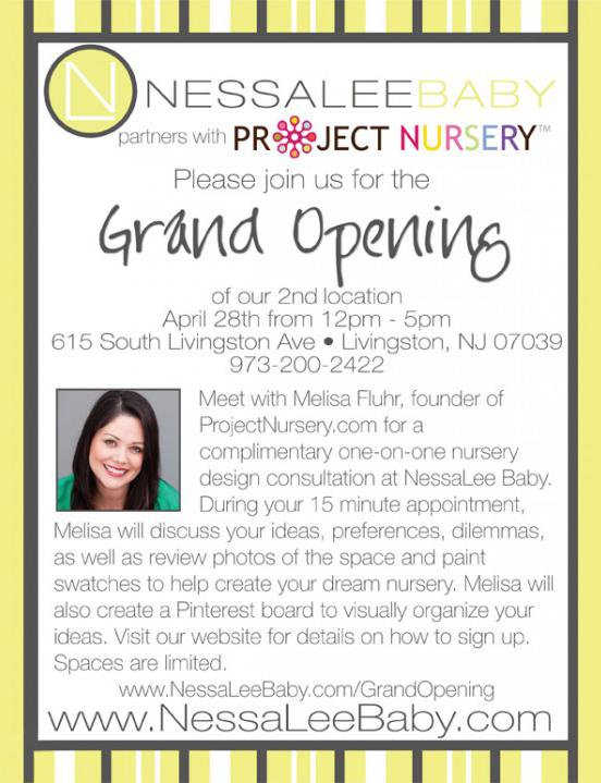 NessaLee Baby Grand Opening in Livingston, NJ