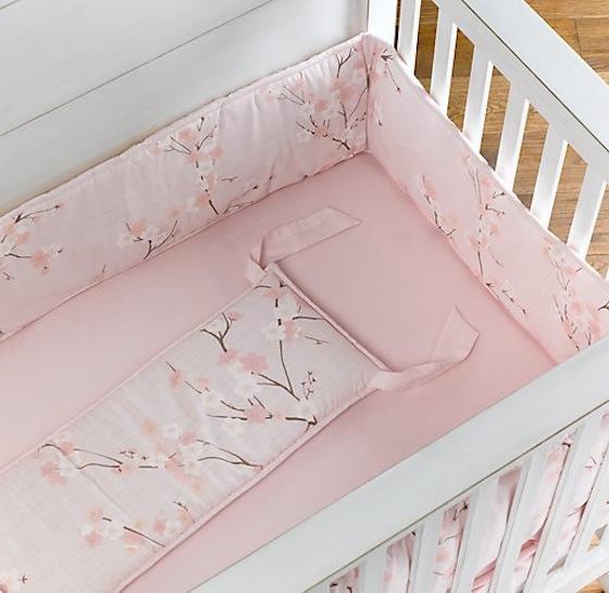 Sakura Cherry Blossom Crib Bedding