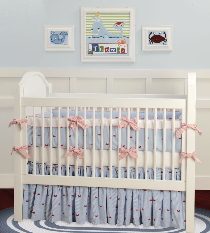 Doodlefish Crib Bedding Set