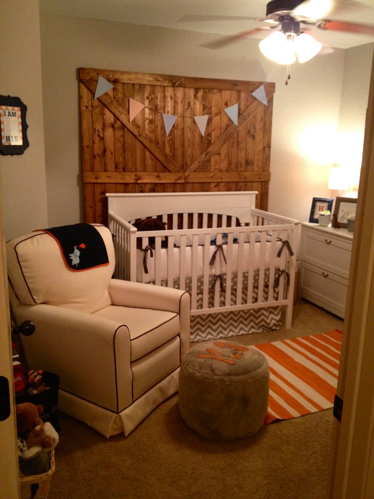 Toddler Boy Room Ideas: Baby Boy Rustic Modern