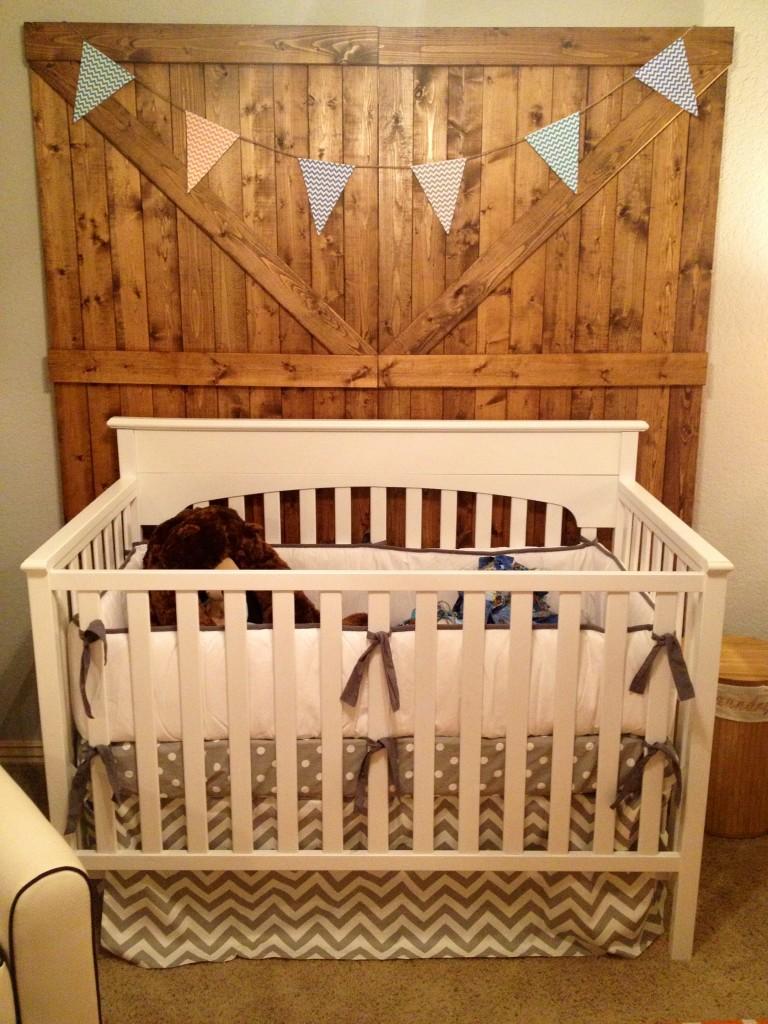 Baby Boy Rustic Modern Project Nursery