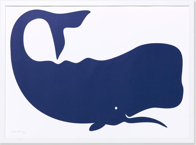Whale Art Print