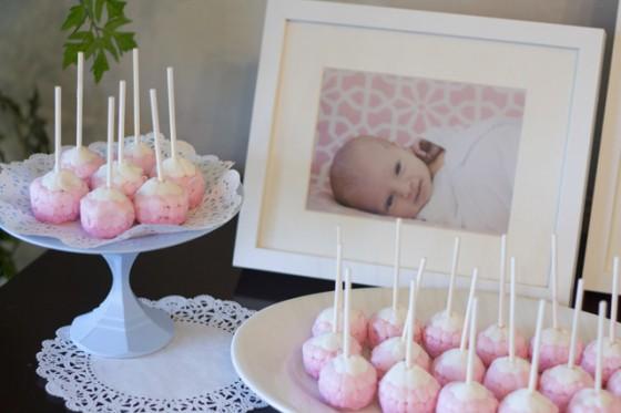 cakepops 1st birthday