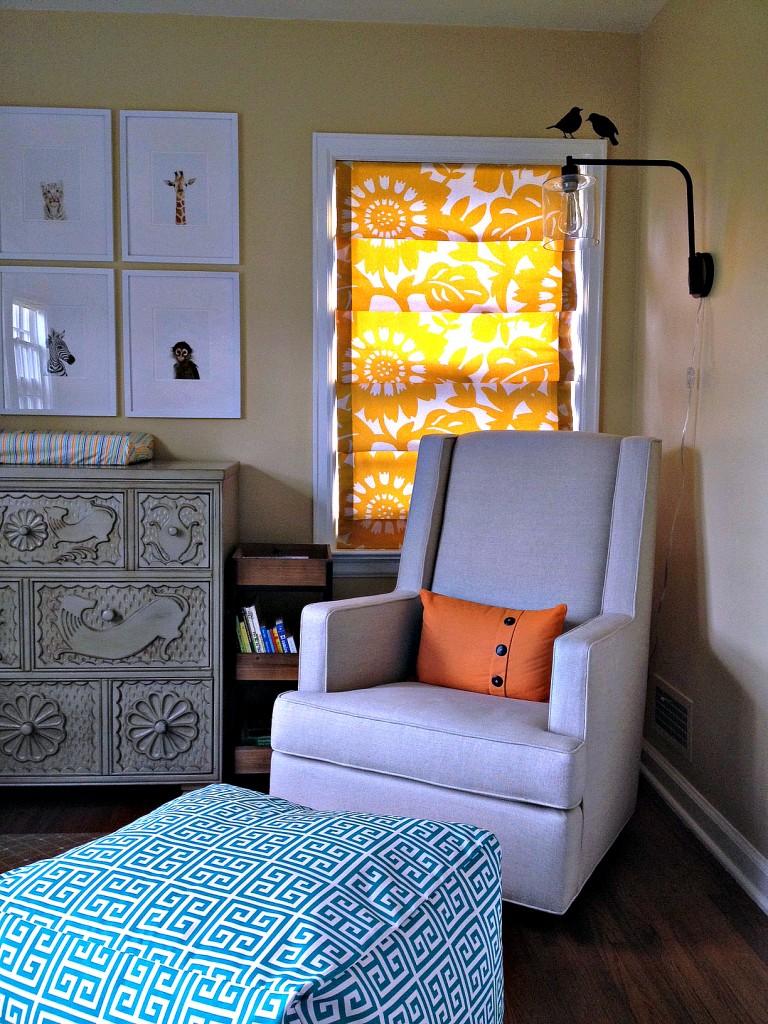 Modern Baby Boy Room: Modern + Vintage Eclectic Baby Boy Nursery