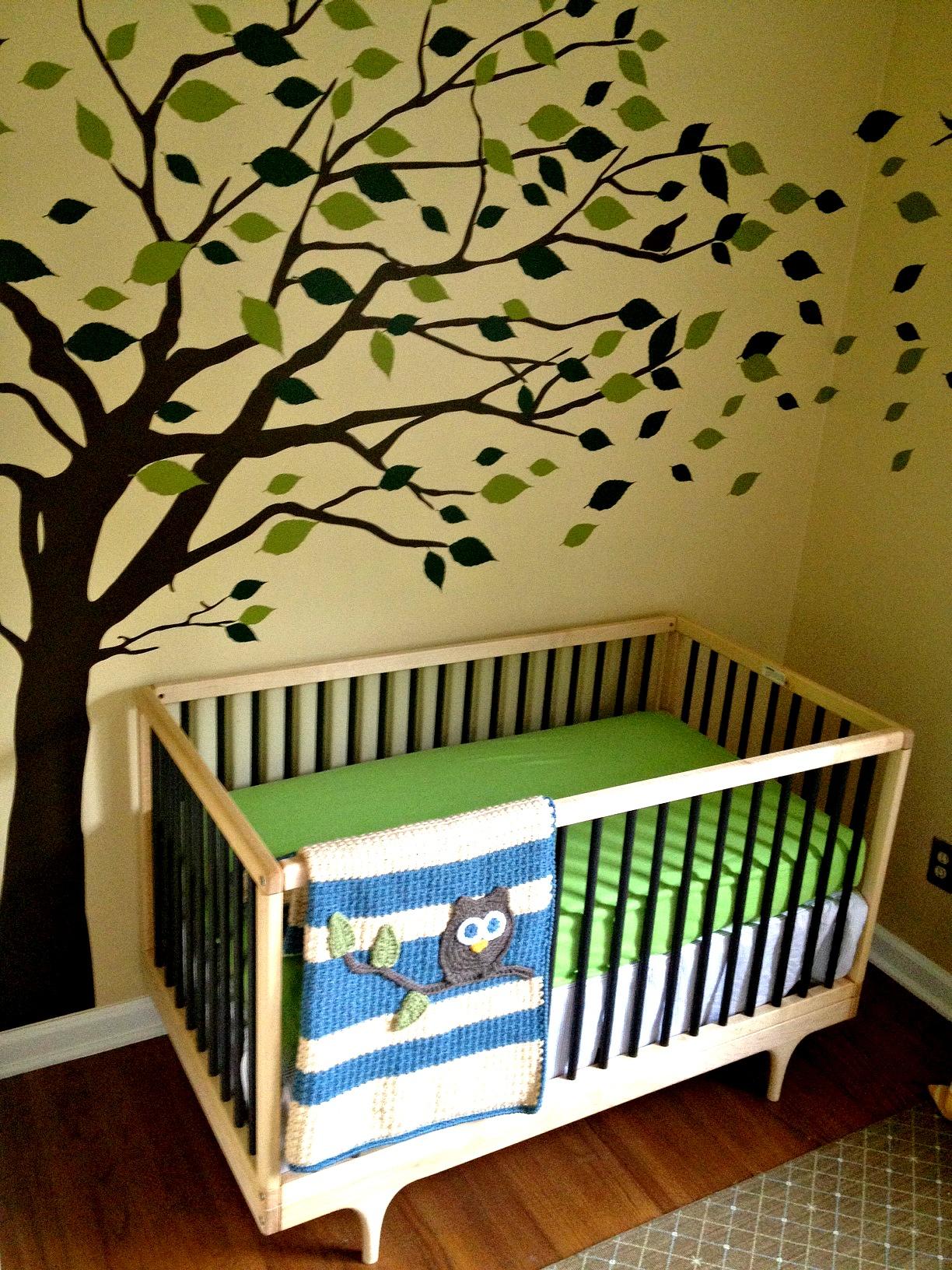 Modern Vintage Eclectic Baby Boy Nursery Project Nursery