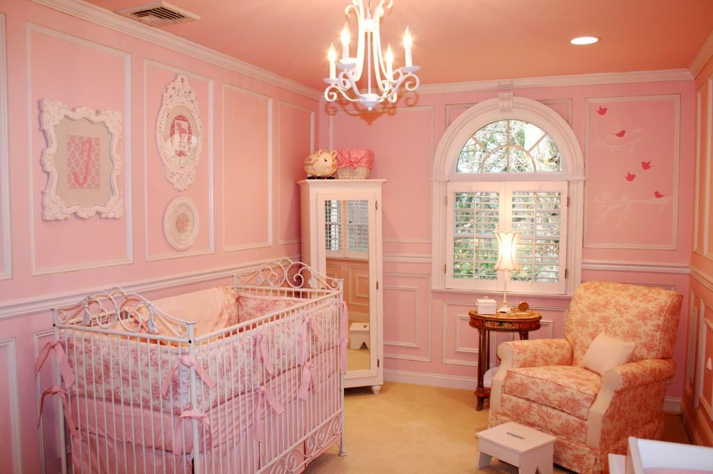 Pink Toile Shabby Chic Nursery Project Nursery