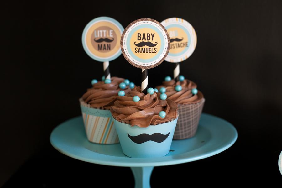 Mustache Baby Shower