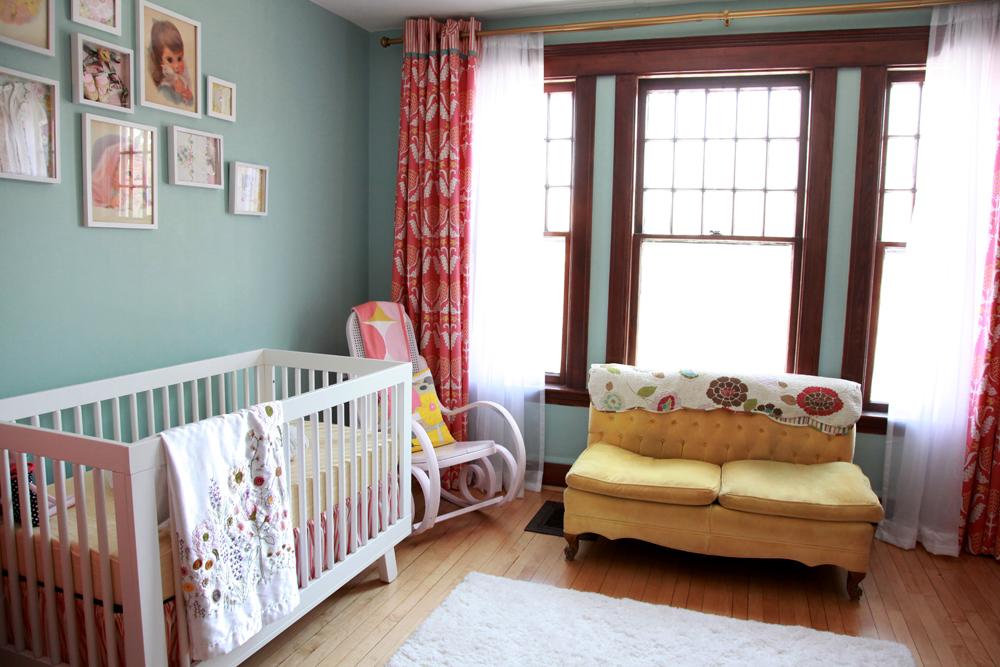 Baby S Vintage Nursery Project Nursery