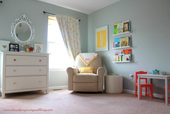 Gray Girl's Nursery