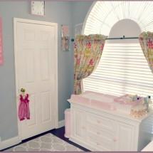 Pink and Gray Girl Nursery
