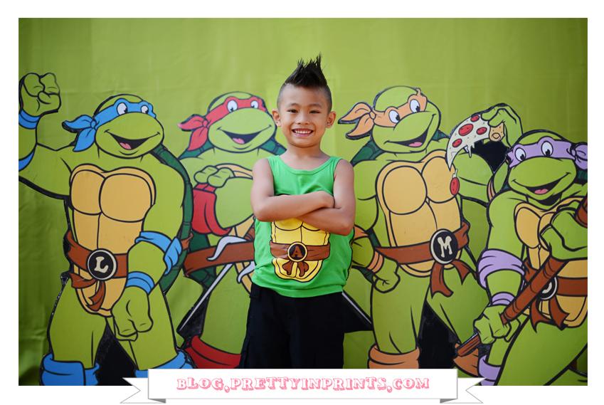 Ninja Birthday Party 9