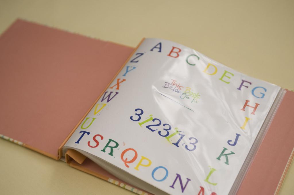 Gender Neutral Baby Shower Scrapbook