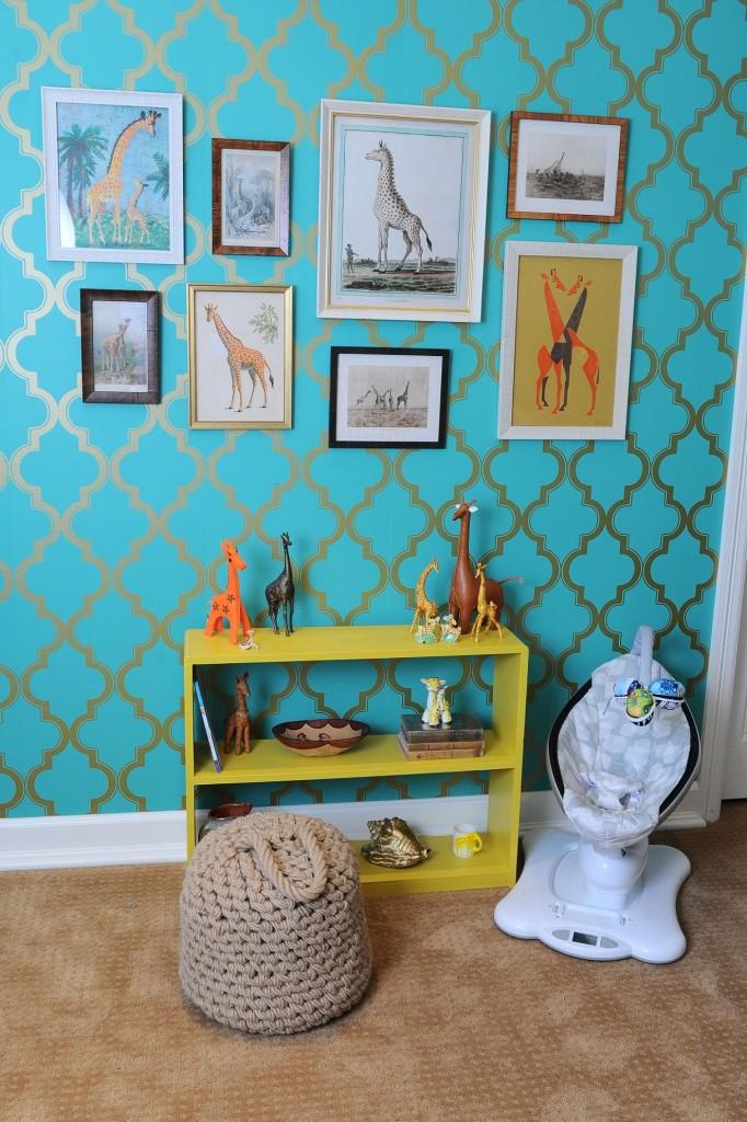 Tori Spelling Giraffe Themed Nursery