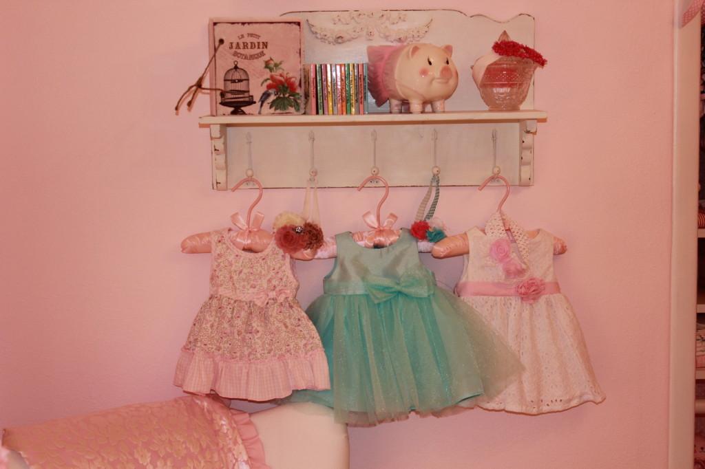 Vintage Glam Girl Nursery Dresses