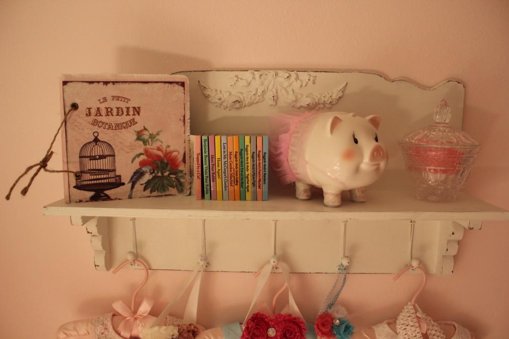 Vintage Glam Girl Nursery Piggybank